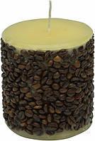 Свеча Кофе с молоком 10x11 см Огонь ОК