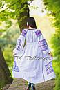 Вышитое платье  бохо вышиванка лен, этно, стиль бохо шик, вишите плаття вишиванка, Bohemian,стиль Вита Кин, фото 5
