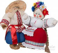 Куклы интерьерные Свадебная пара 58х54 см