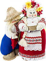 Куклы интерьерные Наталка и Петр 55х53 см
