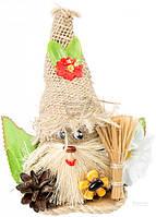 Кукла интерьерная Домовой с цветком 51170619