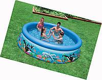 Детский надувной семейный бассейн Intex 54904 (366*76 см)
