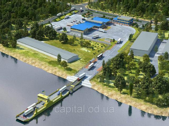 Продажа проекта по созданию берегового комплекса автомобильной, паромной переправы город Измаил - Тульча, Одесская область