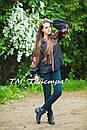 Блузка черная вышитая, вышиванка, лен, этно стиль, Bohemia, фото 2
