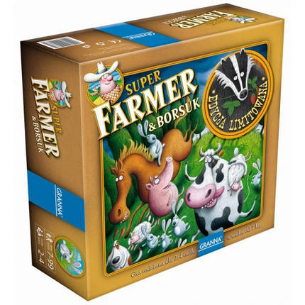 Настольная игра Супер Фермер и Барсук, фото 2