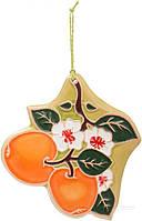 Фигурка декоративная Яблочки 12х12 см