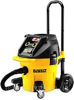 Пылесос промышленный DeWalt DWV902L, 1400Вт, 4080 л/мин, бак 38л, класс очистки воздуха L.