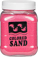 Песок мраморный Розовый 0,2-0,5 мм 650 г (3017)