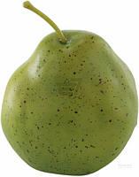 Декоративные фрукты Груша  зеленая 7 см
