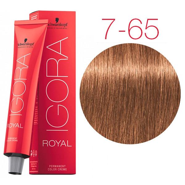 25285ed3ac Igora Royal Senea - Крем-краска для волос без аммиака 7-65 Средний русый