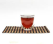 Стакан скляний з подвійними стінками. Склянку з подвійним дном 240 мл