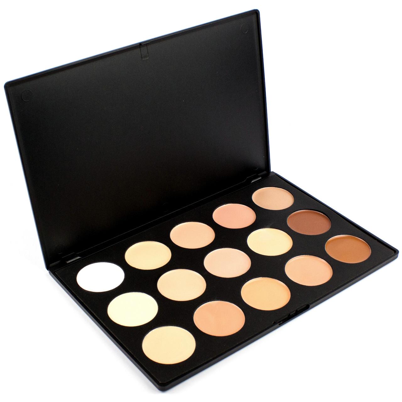 Палитра профессиональных консилеров Beauties Factory Camouflage & Concealer Palette Professional