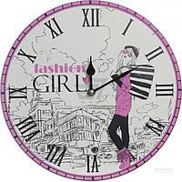 Часы настенные Fashion girl