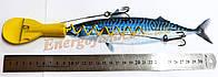 Оснастка морская для ловли палтуса 350 g желтая