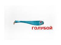 Плоская приманка Asmak 03-8sbl Shad 8 см Голубой