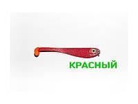 Плоская приманка Asmak 02-7srd Shad 7 см Красный