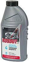 Жидкость тормозная DOT-4 0,5л/1л РОС DOT
