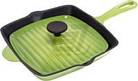 Сковорода-гриль  26x26 см зеленая    Мario Batali