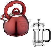 Чайник 3 л + френч-пресс 26-189-015/1 KRAUFF