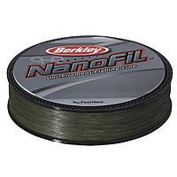 Шнур Berkley Nanofil Green 125 м 0.17 мм темно-зеленый