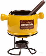 Набор для фондю Chocolate 14,5x10,5x7,5 см 2372-2 Chaozhou Ceramics
