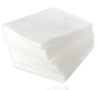 Салфетки 20 см х 20 см (100шт) гладкие в пластах (пл. 40 г/м2) Пани Млада
