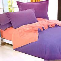 Постельное белье двухцветнное