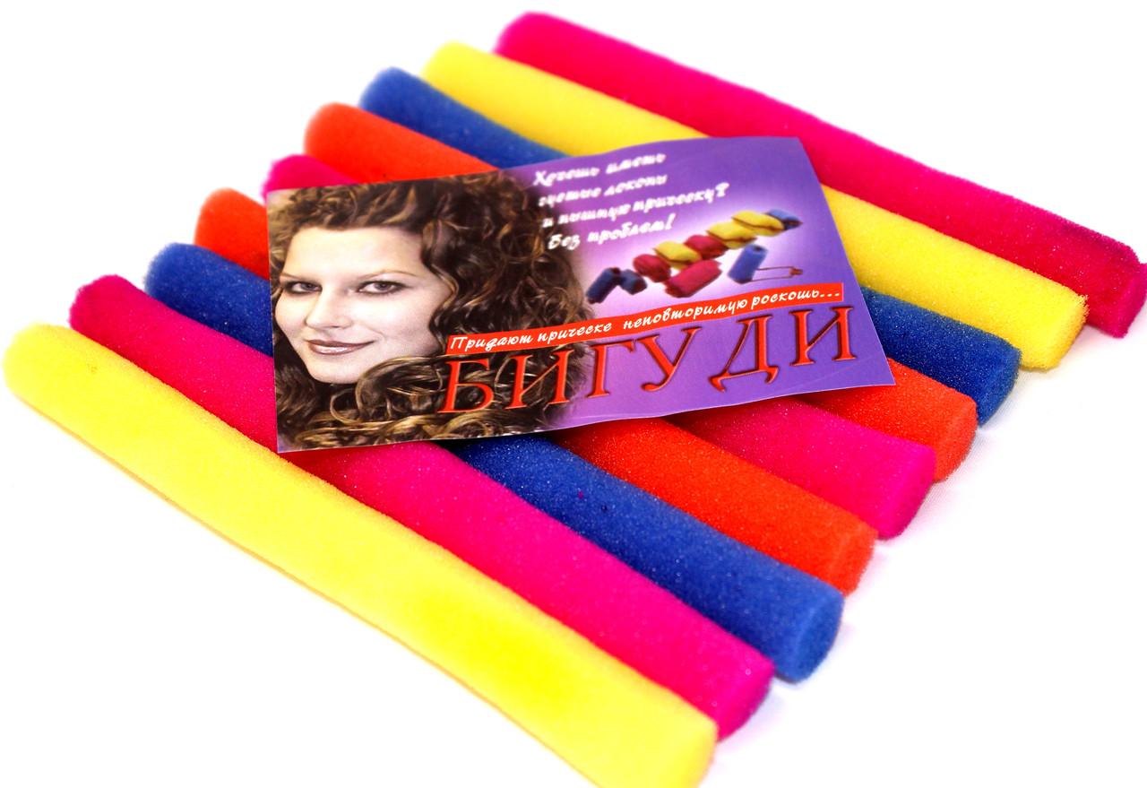 Бигуди для волос №9 (10х150mm) поролоновые