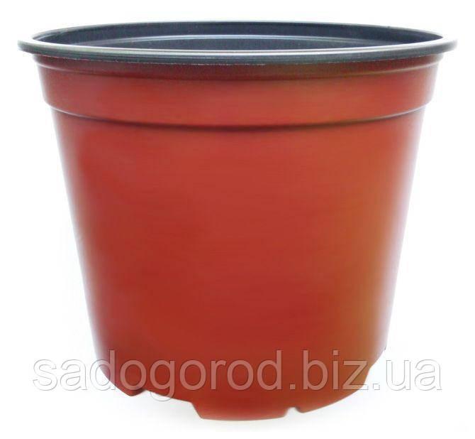 Горшок для рассады, d17 см, объем 2 л
