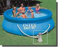 Бассейн надувной Intex Easy Set 28146 (56932) 366*91см +насос-фильтр