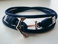 Браслет из паракорда Blue Anchor 005