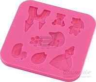 Форма силиконовая для приготовления украшений для кондитерских изделий Delicia Deco 633010 Tescoma