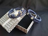 Двойной браслет из паракорда Double Bones 012