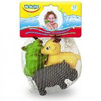 Животные-пищалки для ванной Африка BeBeLino, 3шт