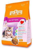 Клуб 4 лапы сухой корм для котят, 3 кг