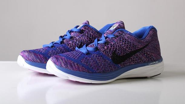 best website 0fcd0 3148d Кроссовки Nike Flyknit Lunar 3 Violet Blue - Интернет-магазин