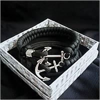 Двойной браслет из паракорда Double Anchor 017