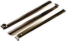 Рожки для обуви (50см) нержавеющая сталь, загнутые
