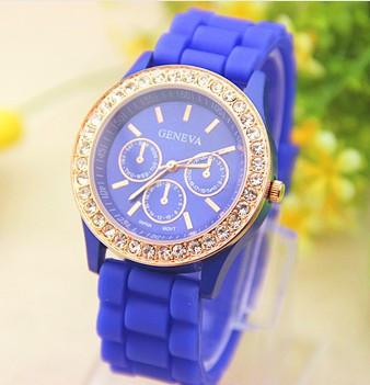 Годинники жіночі Geneva Fashion blue (синій)