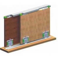 Раздвижная система для шкаф купе PKM 80 T Mepa комплект на 1 двери
