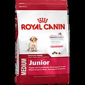 Royal Canin Junior Medium (Юниор Медиум), корм для щенков средних пород (до 12 месяцев), 15 кг