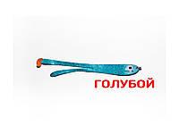 Приманка плоская  Asmak 14-10dbl двухвостая 10 см Голубой