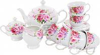 Сервиз чайный Агнесса 15 предметов на 6 персон