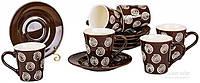 Сервиз кофейный 12 предметов на 6 персон