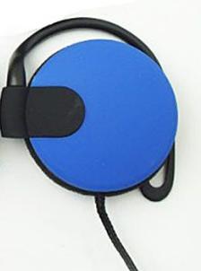Наушники накладные 3,5 mm, синие, фото 2