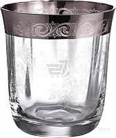 Набор стаканов низких CreArt San Marco 330 мл 6 шт. платина