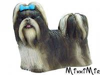 Собака Ши-тцу - объемный конструктор, 4D Master, Белый