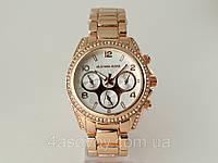 Часы женские Michael Kors цвет золото, серебристый циферблат., фото 1