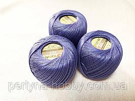 Нитки  для вязания хлопок ирис Ірис Пряжа Iris  YarnArt 100% бавовна, Синій фіалковий, 1 шт. № 0921