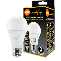 Светодиодная лампа 10W LEDSTAR гарантия 2 года